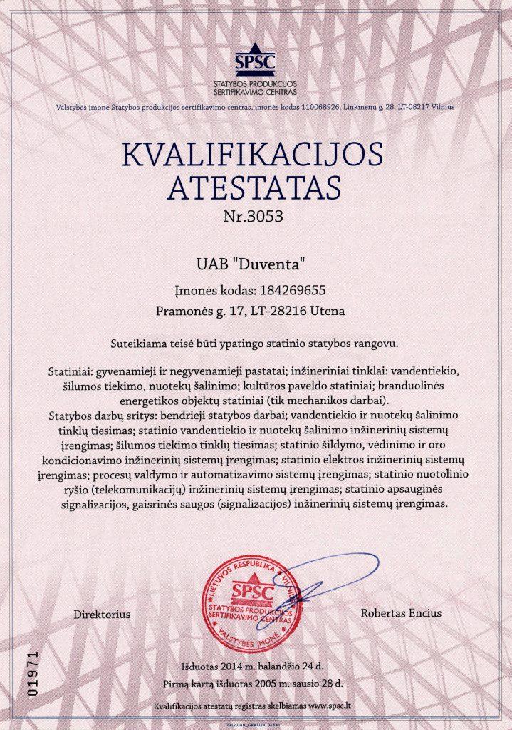 imones kvalifikacijos atestatas